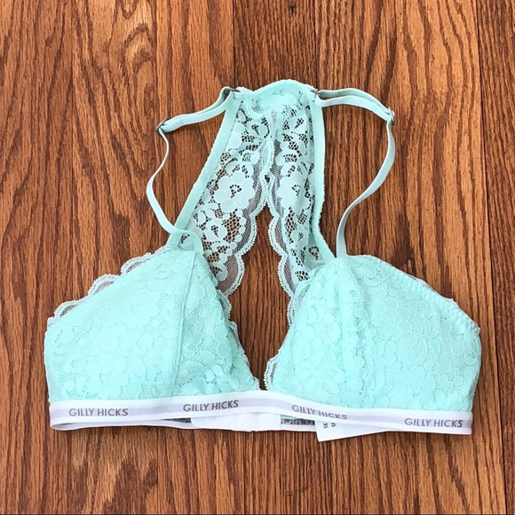91de45dfc03 Gilly Hicks Other - Gilly Hicks Lace Racerback Triangle Bralette